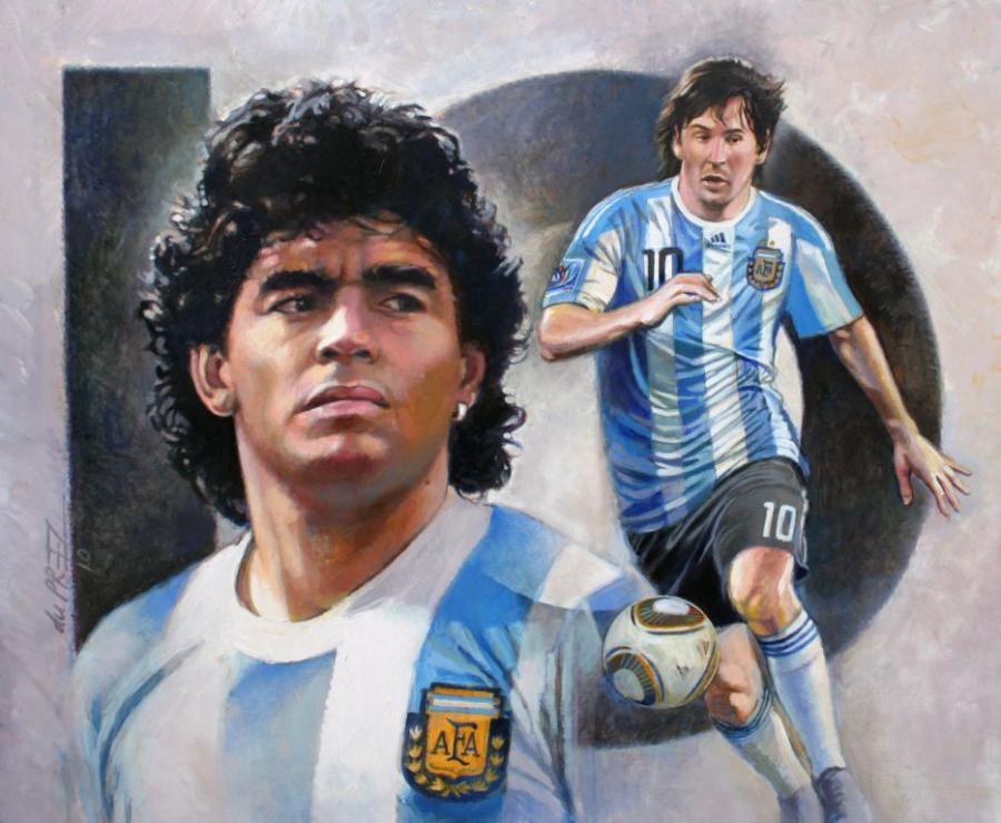 great-argentina-10's--maradona-&amp-messi